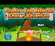 Огонь и Вода на троих в джунглях Амазонки